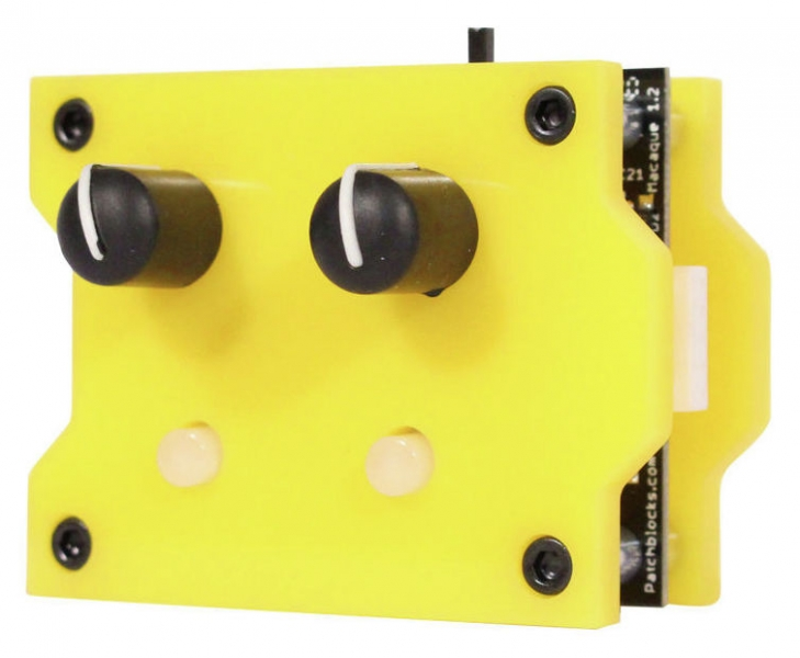 Patchblocks Synthesizer Module - Yellow - Image principale