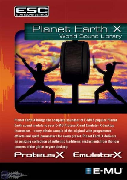 E-MU Planet Earth X - Image principale