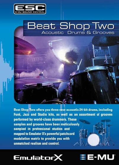 E-MU Beat Shop Two - Image principale