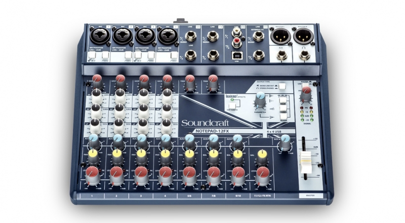 Soundcraft NotePad-8FX - Image principale