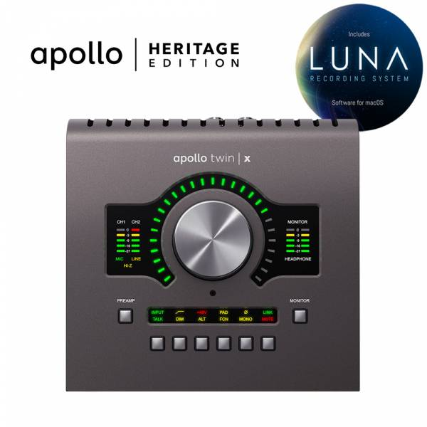 Universal Audio Apollo Twin X QUAD Heritage Edition - Image principale