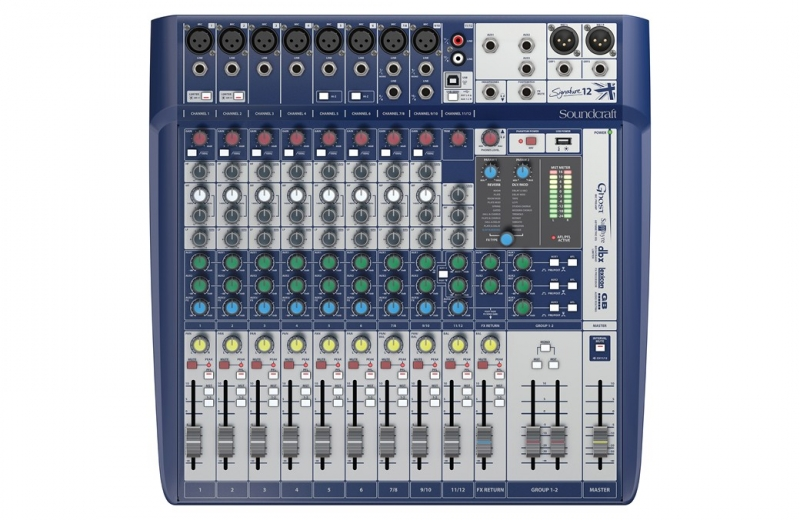 Soundcraft Signature 12 - Image principale