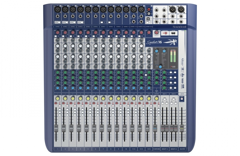 Soundcraft Signature 16  - Image principale