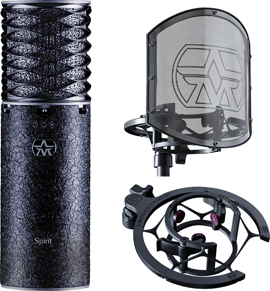 Aston Microphones Spirit Black Bundle - Image principale