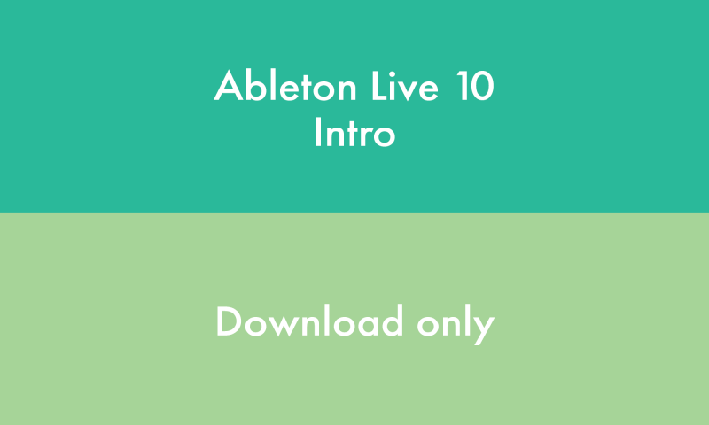 Ableton LIVE INTRO - DOWNLOAD - Image principale