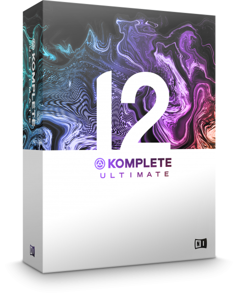 Native Instruments KOMPLETE 12 ULTIMATE UPDATE - Image principale