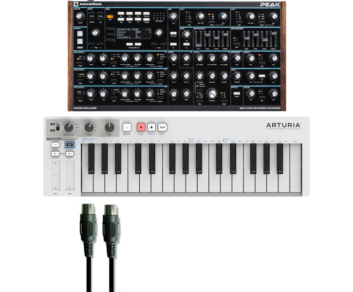 Novation Peak + Keystep Bundle - Image principale