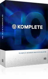 Native Instruments Komplete 10 Update - Image principale