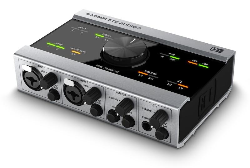 Native Instruments Komplete Audio 6  - Image principale