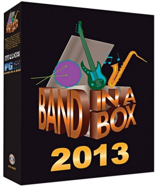 PG Music Band in a Box  2013 Mac  - Image principale