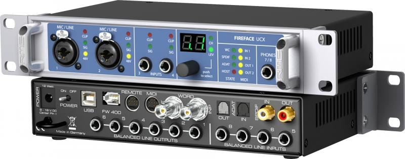 RME Audio FIreface UCX - Image principale