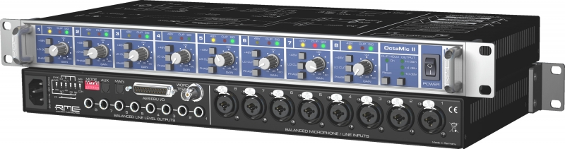 RME Audio OctaMic II - Image principale