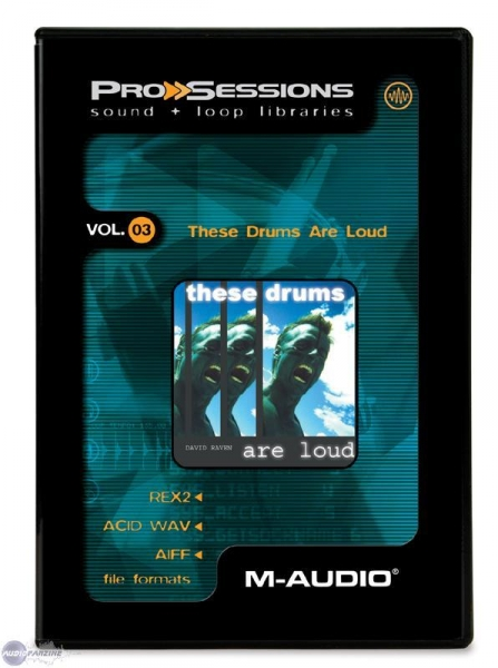 M-Audio ProSessions Vol. 03 — These Drums Are Loud - Image principale