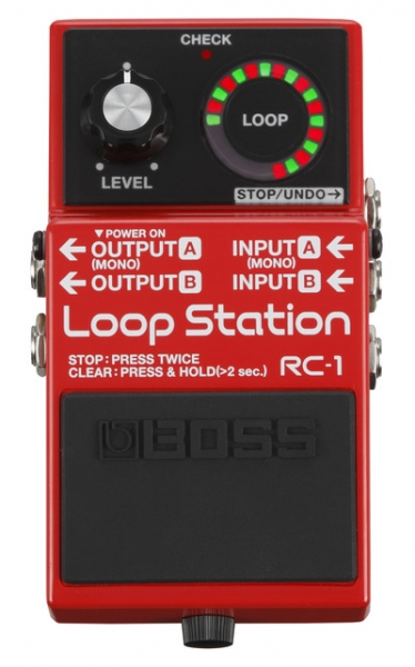 Boss RC-1 Loop Station - Image principale