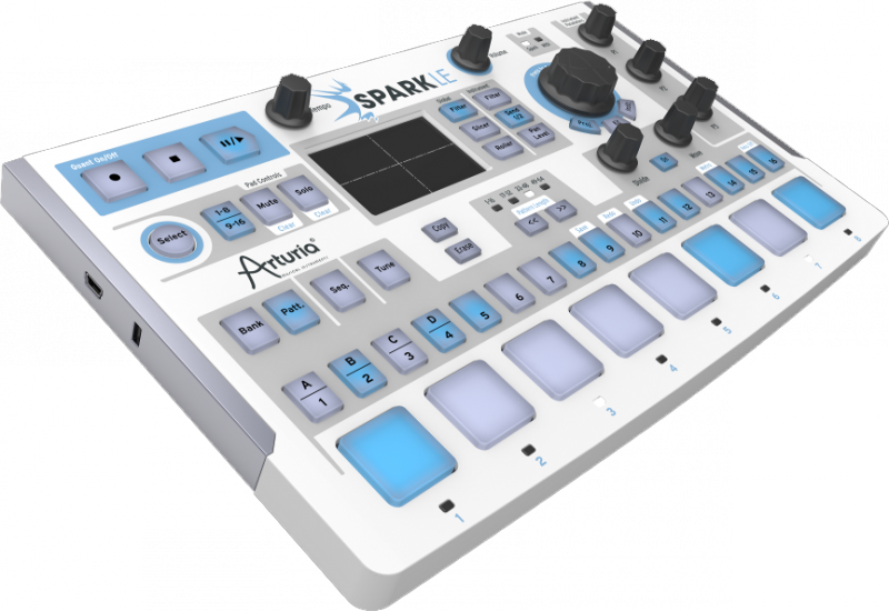Arturia SparkLE Creative Drum Machine - Image principale