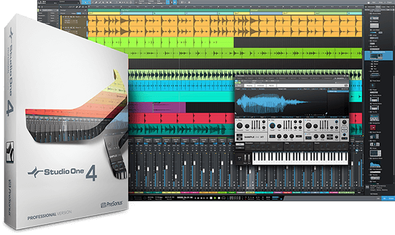 PreSonus Studio One 4 Professional Upgrade ART PRO - Image principale