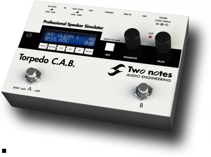 Two Notes Torpedo C.A.B. (Cabinets in A Box) - Image principale