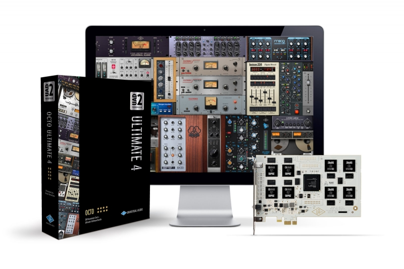 Universal Audio UAD-2 OCTO ULTIMATE 5 - Image principale