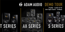 ADAM Audio Demo Tour