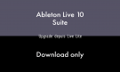 Ableton LIVE 10 SUITE - UPG LITE - DOWNLOAD