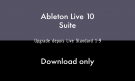 Ableton LIVE 10 SUITE - UPG STANDARD 1-9 - DOWNLOAD