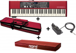 Bundle Nord Electro 5D 73 + Housse Softcase 2 + Dust Cover + Half Moon Switch