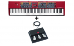 Bundle Nord Stage 2 EX 88 + Triple Pedal