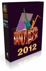 PG Music Band In A BOX 2012 : MegaPack PC - Image principale