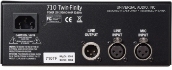 Universal Audio 710 Twin-Finity - Image n°2