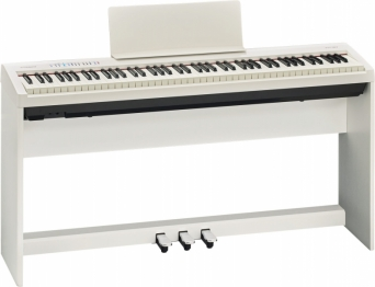 Roland FP-30 White + Stand + Pédalier - Image n°1