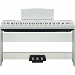 Yamaha P-115 WH + stand + pédalier - Image n°1