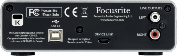 Focusrite iTrack Solo  - Image n°2