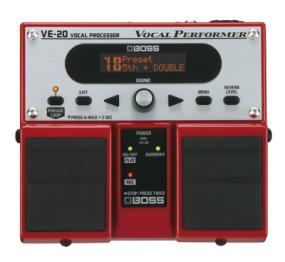 Boss VE-20 Vocal Performer  - Image n°1